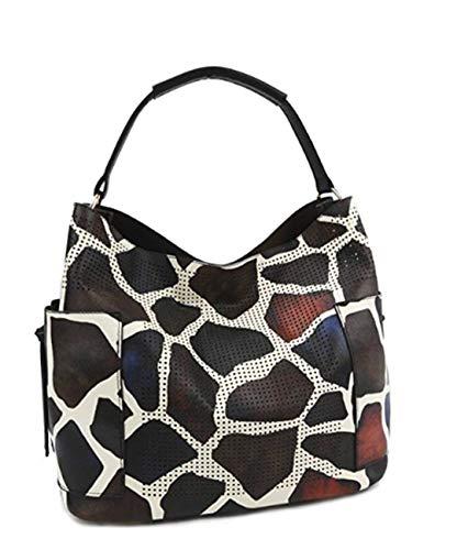 - Giraffe Print Tote Style Shoulder Purse