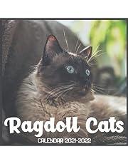 Ragdoll Cats Calendar 2021-2022: April 2021 Through December 2022 Square Photo Book Monthly Planner Ragdoll Cats, small calendar