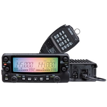 Alinco DR-735T Dual Band VHF/UHF 50W Mobile Transceiver With Dual Receive and Cross-Band Repeat Operation. Review