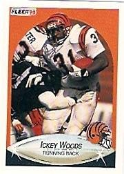 1990 Fleer #223 Ickey Woods