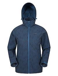 Mountain Warehouse Exodus Mens Softshell Jacket - Warm Shell Petrol Blue Medium