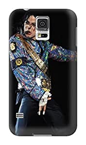 New 3d patterns tpu phone cover with texture phone cover for Samsung Galaxy s5(Michael Jackson) by Kathleen Kaparski