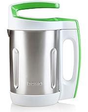 DOMO DO705BL soeppoker, metaal, 2 liter, chroom