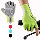 Hikenture Half Finger Cycling Gloves for Men and