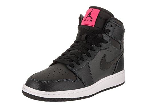 Nike Jordan Kids Air Jordan 1 Retro High Gg Anthracite/Black Black Basketball Shoe 4.5 Kids