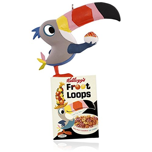 Vintage Kellogg's Toucan Sam Froot Loops Ornament 2015 Hallmark -