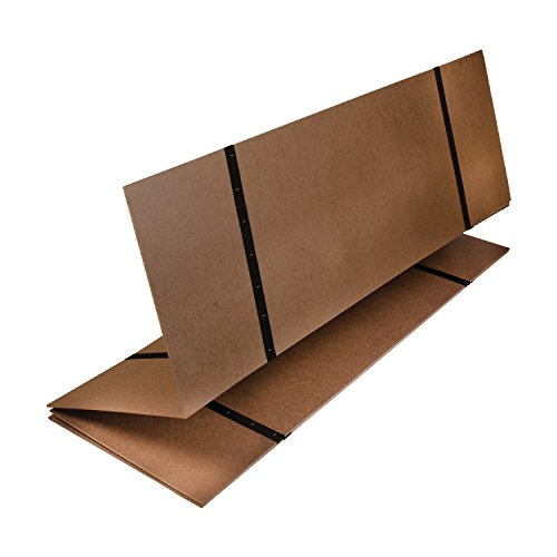 DMI Folding Bed Board for Support, Bunky Board, Twin Size, Brown