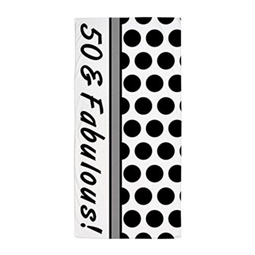 CafePress - Fabulous 50Th Birthday - Large Beach Towel, Soft