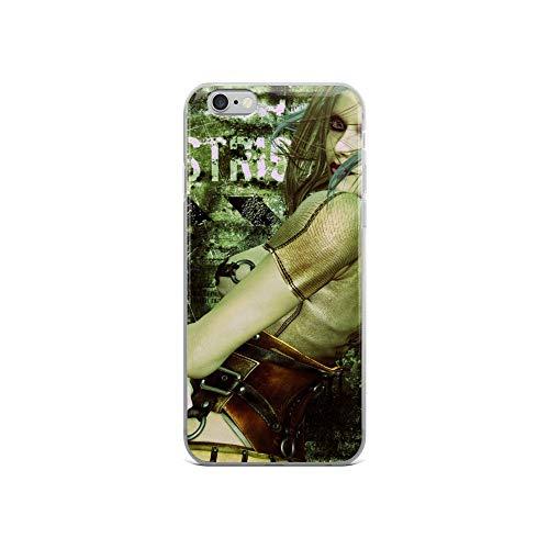 iPhone 6/6s Case Anti-Scratch Phantasy Imagination Transparent Cases Cover Asylum Angel Fantasy Dream Crystal Clear ()