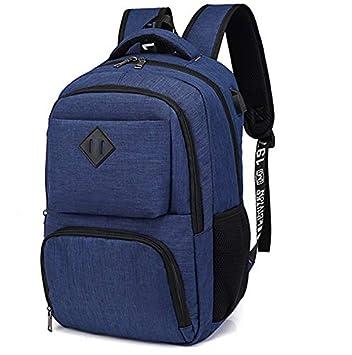 Hotchy Mochila para portátiles, Mochila para Ordenador portatil 15.6 Pulgadas USB Mochila de Portátil Bolso Impermeable Bolsa Viajes para Colegio ...