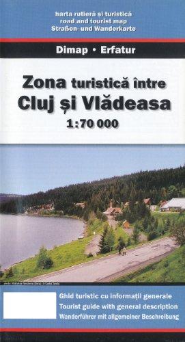 Cluj to Vladeasa (Romania) 1:70,000 Touring Map DIMAP