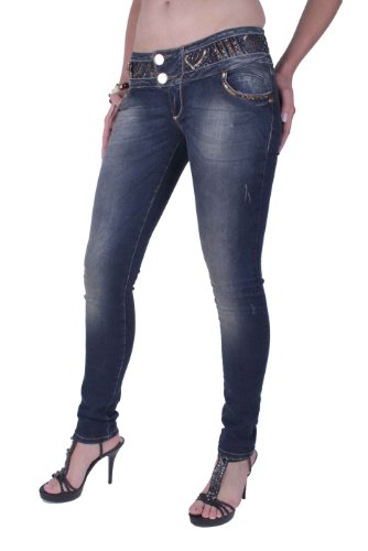 CIPO & BAXX femmes pantalons jeans skinny cbw-0455