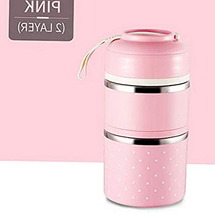 0730ca6031ac Amazon.com: Mikash Cute Thermal Lunch Box Leakproof Stainless Steel ...