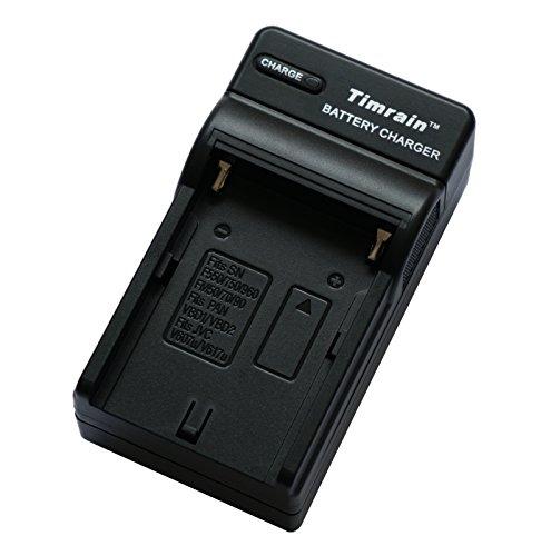 Timrain Battery Charger for Sony NP-F550,F750,F960,FF970, FM50,FM70,FM90,QM71D,QM91D,NP-F500H/F55H
