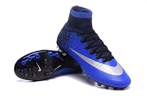 Lissay Shoes Mens Football Soccer Mercurial Superfly CR7 AG Boots