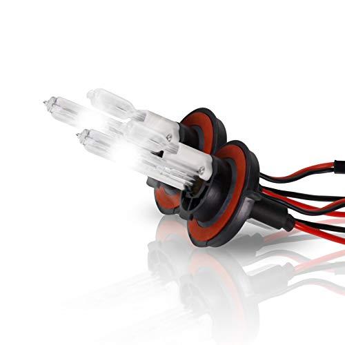 - P.RA 35W 55W HID Xenon Replacement Bulbs - 1 pair - H13 9008 - Amethyst Purple
