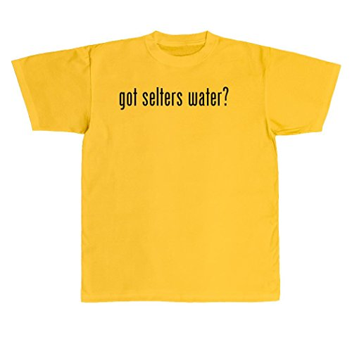 got-selters-water-new-adult-mens-t-shirt-yellow-xxx-large