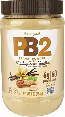 PB2 Vanilla Peanut Butter Powder - With Madagascar Vanilla, The Original