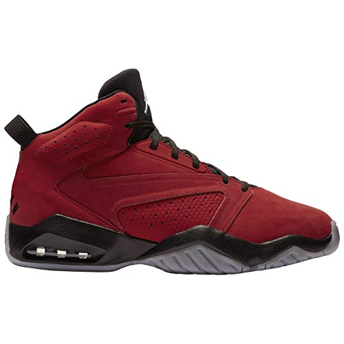Leather Black Jordan - Nike Jordan Mens Jordan Lift Off Synthetic Leather Gym Red Black Trainers 9 US