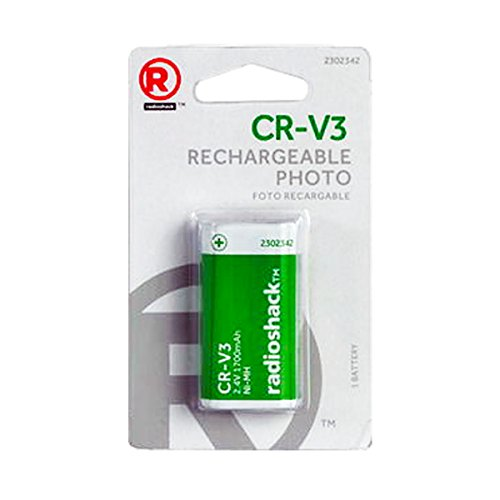 Radio Shack CR-V3 2.4V 1700mAH Rechargeable NI-MH PHoto B...