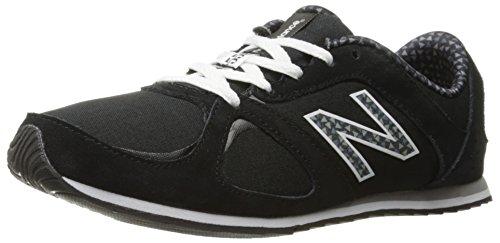 New Balance 555de las mujeres Casual estilo de vida Zapatillas Black/Graphic