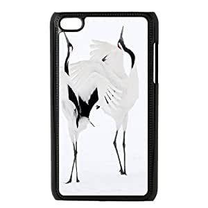 Personalized DIY Red-crowned Crane Custom Cover Case For Ipod Touch 4 S7B593541