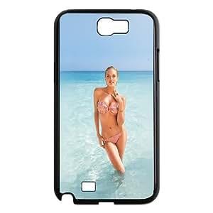Samsung Galaxy N2 7100 Cell Phone Case Black hf93 bikini victoria secret sexy model sea SLI_664633