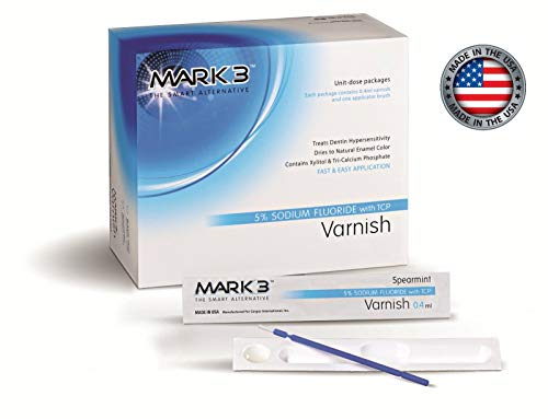 (Varnish 5% Sodium Fluoride Unit-Dose Package (2 x 5 Pcs) Bubblegum, Mint or Caramel - Made in USA (Bubblegum))