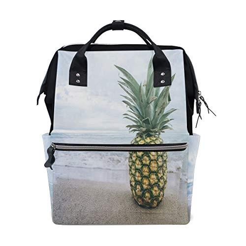 Best Oxa College Bags - HangWang Diaper Bags White Sand Pineapple