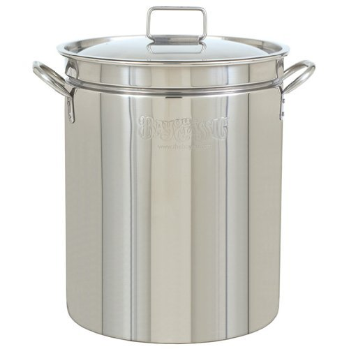 Bayou Classic  SYNCHKG125294 Stainless Steel Stockpot, 102 ()