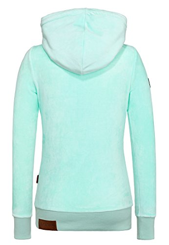 Naketano Darth Mack II Women Zip Hoody, Größe:S;Farbe:light green
