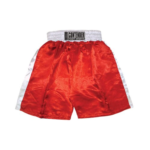 Contender Fight Sports In-Stock Trunks (Red-White,