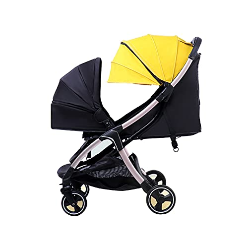First Rober Convenient Foldable Baby Carriage Stroller Jogger, Washable high Landscape Baby Stroller