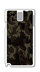 Print Hard Shell case for samsung galaxy note 3 for girls - camo color