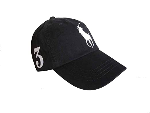 a7cf11706f623 Image Unavailable. Image not available for. Color  Polo Ralph Lauren Men`s  Cotton Chino Baseball Cap with Adjustable Leather Strap ...