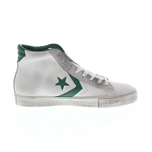 Converse Pro Leather Vulc, Men's High Trainers Bianco