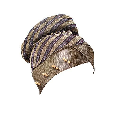 Femme Bonnet Unique Taille Doré Acvip 75qw8w