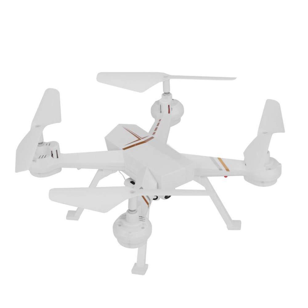 LXWM RC Drone 0.3MP Quadcopter con Cámara WiFi FPV Altitud Mantener Modo Sin Cabeza Flip 3D Una Tecla De Retorno RC Helicóptero Aviones,White