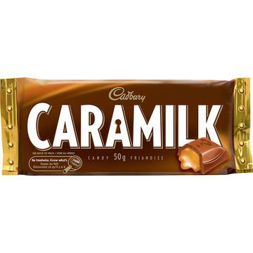 Cadbury Caramilk 6 bars 50 g From Canada