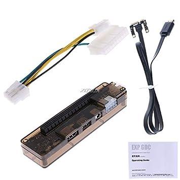 Amazon.com: Connectors Pcie Pci-E V8.4D Exp Gdc - Estación ...