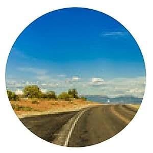 alfombrilla de ratón Camino de la montaña y cielo azul - ronda - 20cm