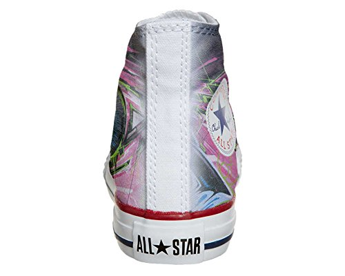 Converse All Star chaussures coutume mixte adulte (produit artisanal) Street Eyes
