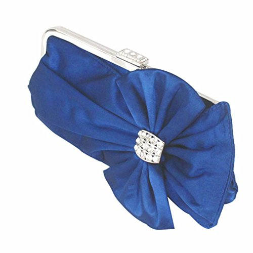 Blue Lady Lady Bag Lady tie Bag Blue Bow Handbag Sweet xOqwf8vY