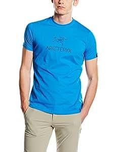 Arcteryx Arc 39 Word Ss T Shirt Men 39 S Adriatic Blue F15