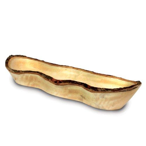 (Enrico 2837A Long Mango Wood Bread Basket)