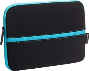 Targus Neoprene Slipskin Peel Netbook Slip Case Designed to Protect up to 10.2-Inch Netbooks TSS11104US (Black with Blue)