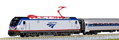 10710-2 Amtrak ACS-64 & Amfleet I Coach 5 Cars N Scale ()