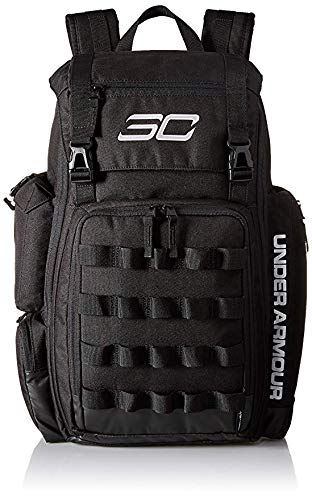 Under Armour SC30 Backpack Basketball Bag Black/Silver Size One Size (Under Armour Basketball Bag)