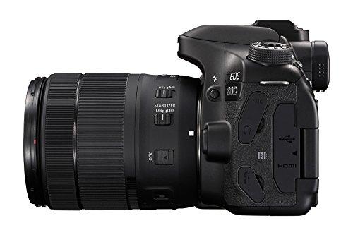 Canon EOS 80D 24.2MP Digital SLR Camera (Black) + EF-S 18-135mm f/3.5-5.6 Image Stabilization USM Lens Kit + 16GB Memory… 4