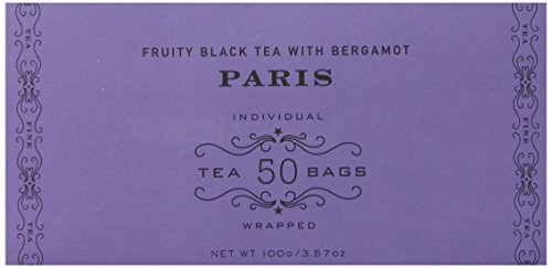 - Harney & Sons Fruity Black Tea with Bergamot, Paris, 50 Tea Bags